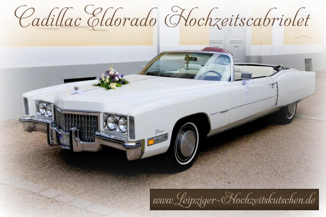 Cadillac Hochzeitsauto Großpösna