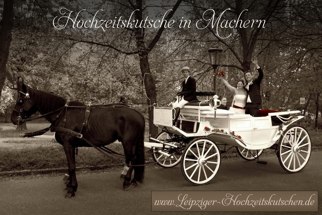 Bild: Hochzeitskutsche Machern