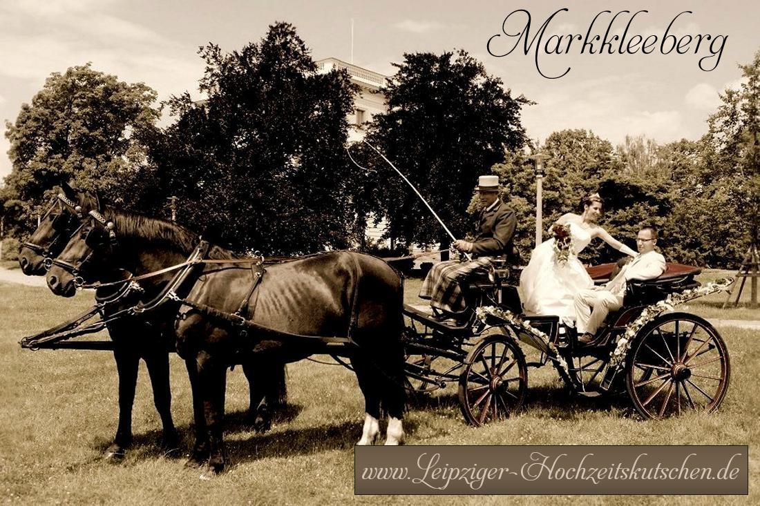 Bild: Hochzeitskutsche Markkleeberg