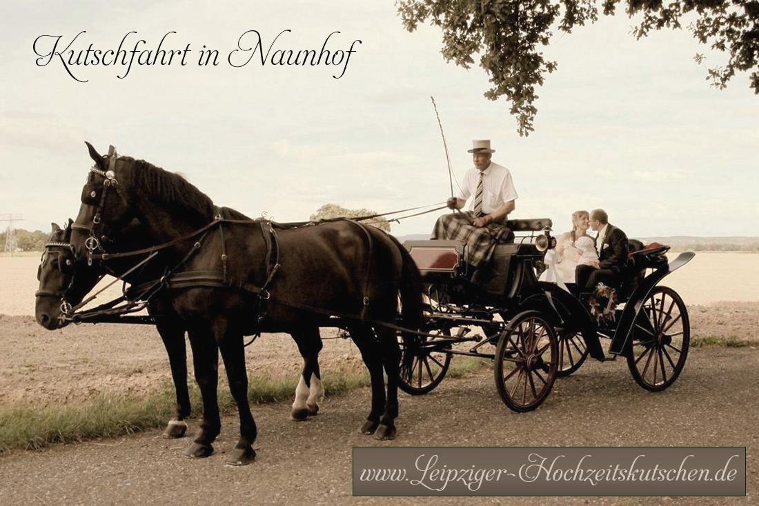Hochzeitskutsche in Naunhof